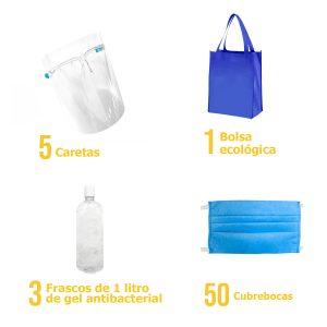 EQUIPO COVID – KIT DE PROTECCIÓN 3